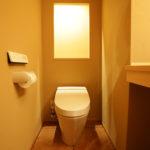 男性側トイレです、女性側とはまた雰囲気の違う形になっています。